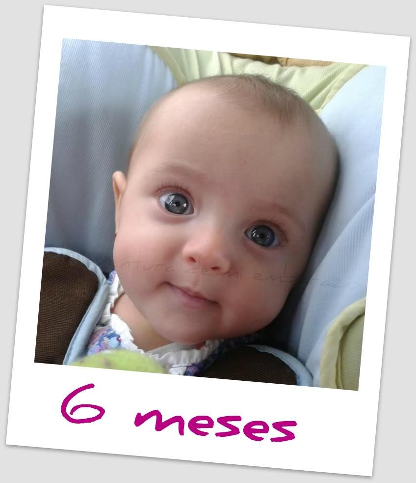 Mi peque a princesa cumple 6 meses la aventura de mi embarazo - Bebe de 6 meses ...