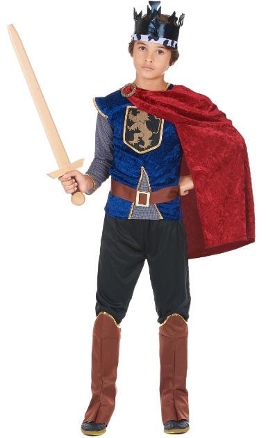 disfraz rey medieval niño vegaoo