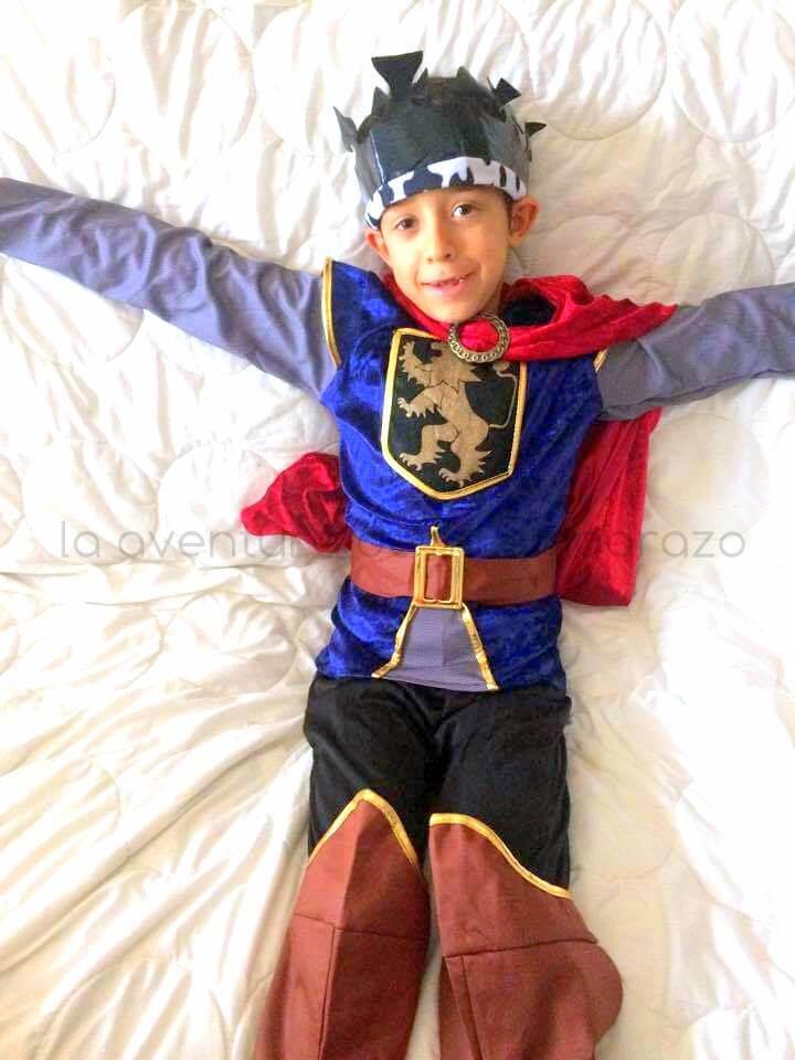 disfraz rey medievalniño vegaoo
