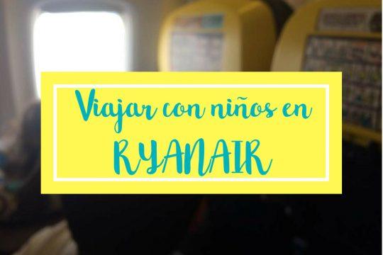 volar con ninos en ryanair