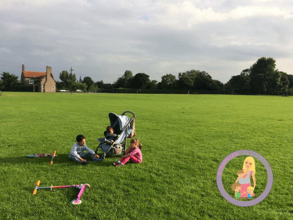 planes con niños en edimburgo inverleith park