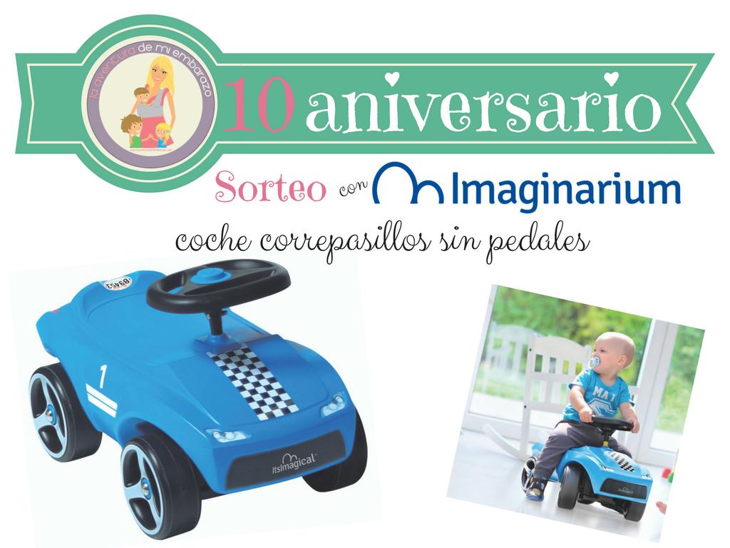 sorteo 10 aniversario con imaginarium