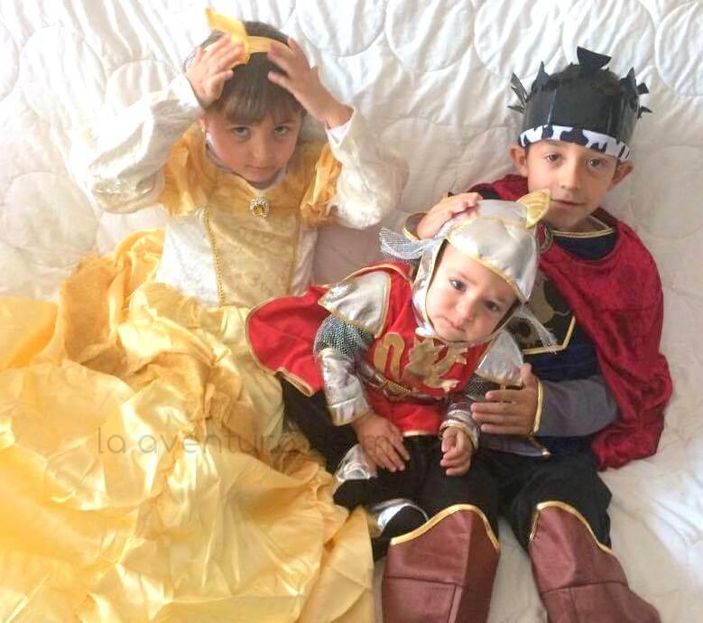 disfraces medievales infantil vegaoo
