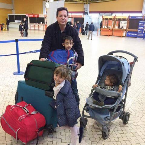 aeropuerto despedida