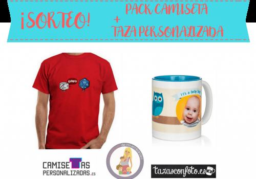 sorteo camisetas personalizadas tazas con foto