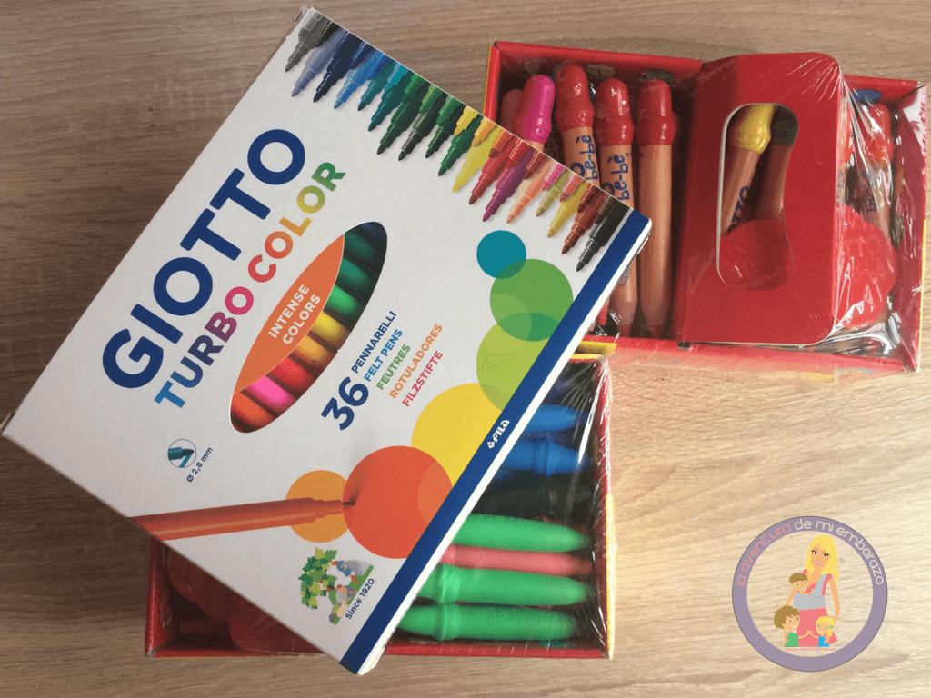 material escolar Giotto