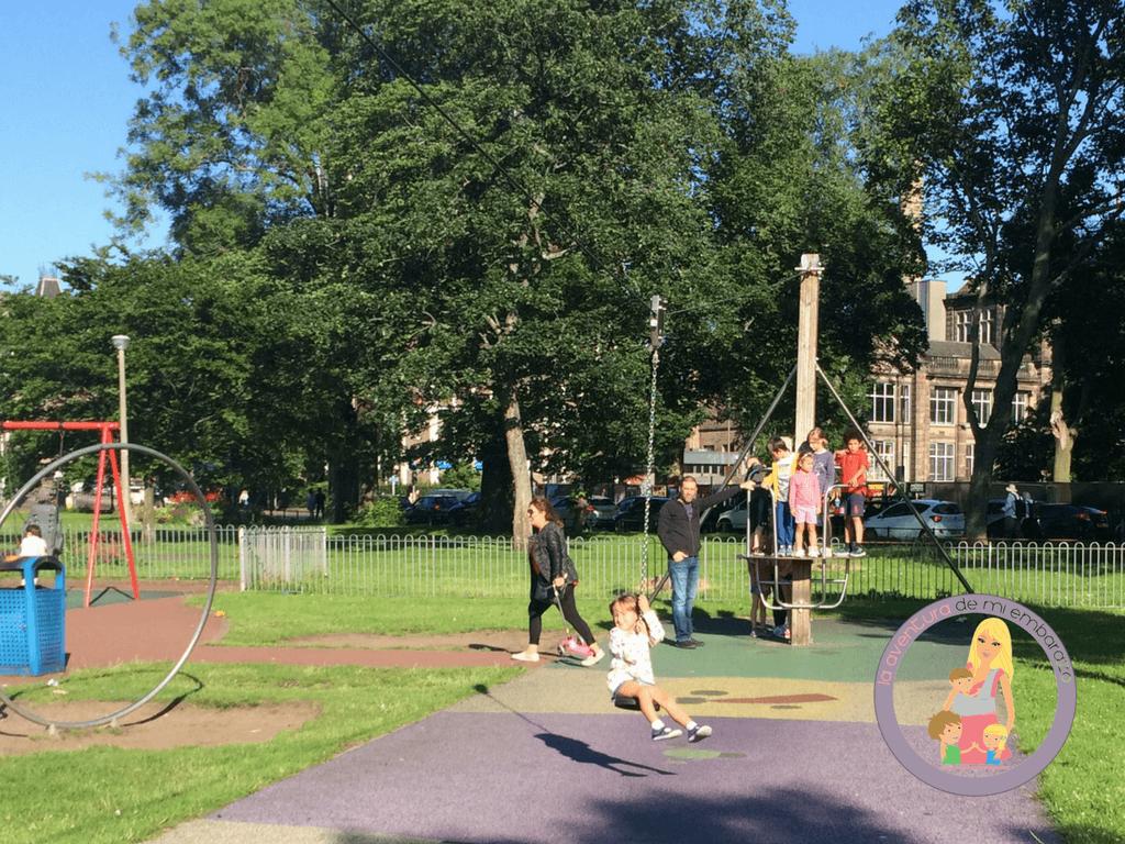 planes con niños en edimburgo meadows