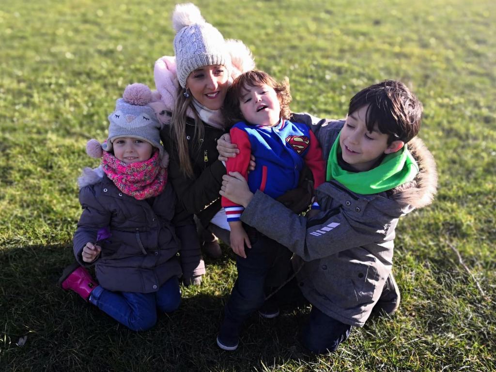 familia expatriada en Edimburgo