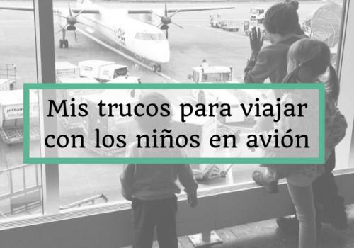 viajar con los niños en avion